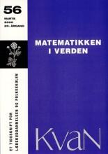 kvan 56 - matematikken i verden - bog