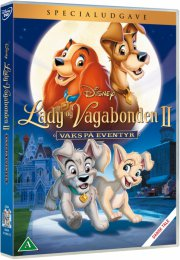 lady og vagabonden 2: vaks på eventyr - DVD