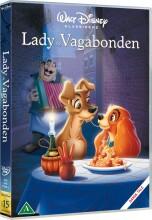lady og vagabonden - disney - DVD