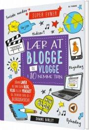 lær at blogge og vlogge i 10 nemme trin - bog