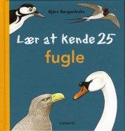 lær at kende 25 fugle - bog