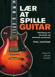 lær at spille guitar - bog