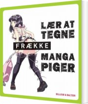 lær at tegne frække manga-piger - bog