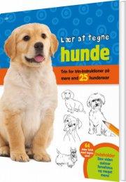 lær at tegne hunde - bog