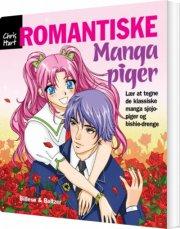 lær at tegne romantiske manga-piger - bog