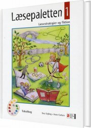 læsepaletten 1, tekstbog - bog