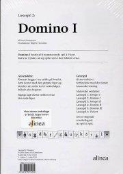 læsespil 2, domino 1 - bog