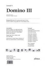 læsespil 5, domino 3 - bog