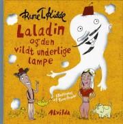laladin og den vildt underlige lampe - bog