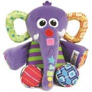lamaze elefant / spillefant - aktivitetsbamse med musik - Babylegetøj