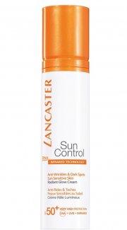 lancaster - sun control anti-wrinkles and dark spots cream spf50+ 50 ml - Hudpleje