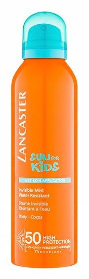 lancaster - sun kids wet skin application mist spf50 spray 125 ml - Hudpleje
