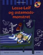 lasse-leif og ostemadsmonstret - bog