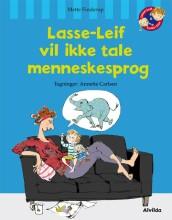 lasse-leif vil ikke tale menneskesprog - bog