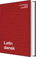 latin-dansk ordbog - bog