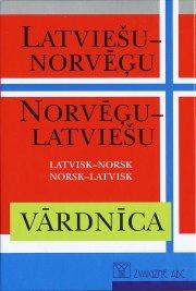 latvisk - norsk, norsk - latvisk ordbok  - lettisk