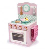 le toy van legekøkken - honeybake ovn og komfur - rose - Rolleleg