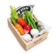 le toy van legemad - grøntsager i kasse - Rolleleg