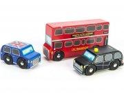 le toy van - london bilsæt til garager og legetæpper - Køretøjer Og Fly