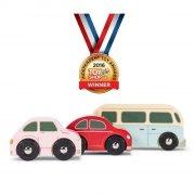 le toy van - retro bilsæt til garager og legetæpper - Køretøjer Og Fly