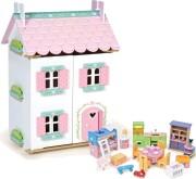 le toy van dukkehus med møbler - sweetheart cottage - Dukker