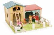 le toy van bondegård legetøj - lade / wooden barnyard - Bondegård