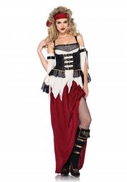 leg avenue - buried treasure beauty costume - large (8530103141) - Udklædning Til Voksne