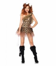 leg avenue - cave girl cutie - medium-large (40-42) - Udklædning Til Voksne