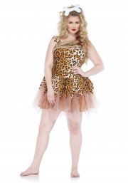 leg avenue plus size kostume - hulepige - 1x-2x - Udklædning Til Voksne