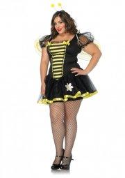 leg avenue plus size kostume - bidronning - 3x-4x - Udklædning Til Voksne