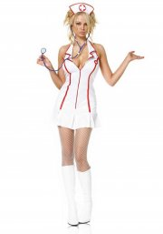 leg avenue - head nurse costume - medium-large (8305006002) - Udklædning Til Voksne