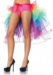 leg avenue - layered organza bustle skirt (a1999) - Udklædning Til Voksne