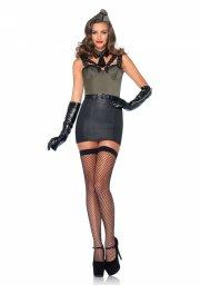 leg avenue - major bombshell kostume - large  - Udklædning Til Voksne