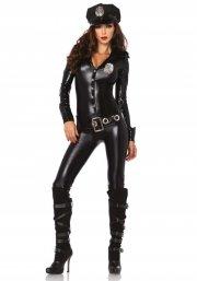 leg avenue - officer payne costume - large (8391203001) - Udklædning Til Voksne