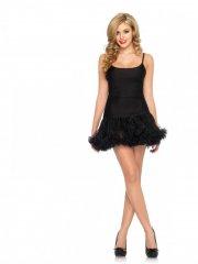 leg avenue - petticoat dress - black - small-medium (8360905001) - Udklædning Til Voksne