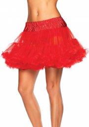 leg avenue - petticoat underskørt - rød - Udklædning Til Voksne