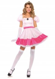 leg avenue - pink prinsesse - large (42-44) - Udklædning Til Voksne