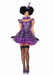 leg avenue - pretty parisian clown - small-medium (8535405039) - Udklædning Til Voksne