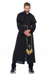 leg avenue - priest costume - x-large (8533404001) - Udklædning Til Voksne
