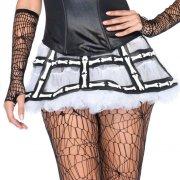 leg avenue - rubber bone cage skirt (2652) - Udklædning Til Voksne