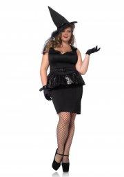 leg avenue plus size kostume - heks - 3x-4x - Udklædning Til Voksne