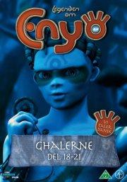 legenden om enyo - vol. 5 - del 18-21 - ghalerne - DVD