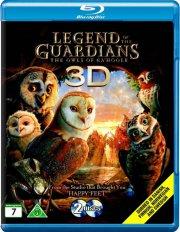 legenden om vogterne - uglerne fra ga'hoole - 3d - Blu-Ray