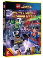 dc comics super heroes: justice league vs. bizarro league - DVD