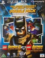 lego: batman - the movie + lego batman 2 + playstation 3 spil - Blu-Ray