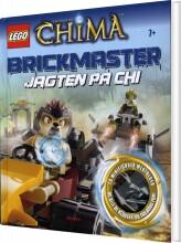 lego chima brickmaster - jagten på chi - bog