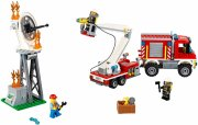 lego city - fire utility truck - 60111 - Lego