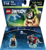 lego dimensions: fun pack - bane (dc comics) - Lego
