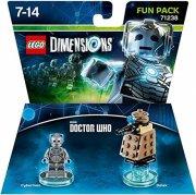 lego dimensions: fun pack - cyberman (dr.who) - Lego