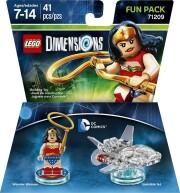 lego dimensions: fun pack - dc wonder woman (71209) - Lego